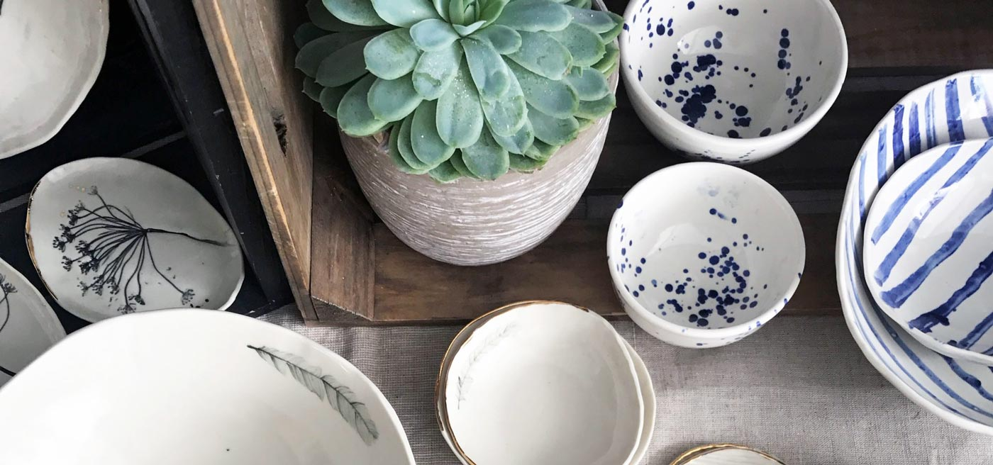 ceramics inspired by nature