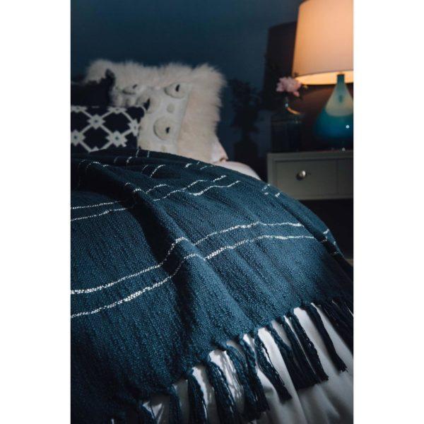 indoor outdoor cotton throw, pillow