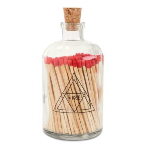 apothecary match bottle