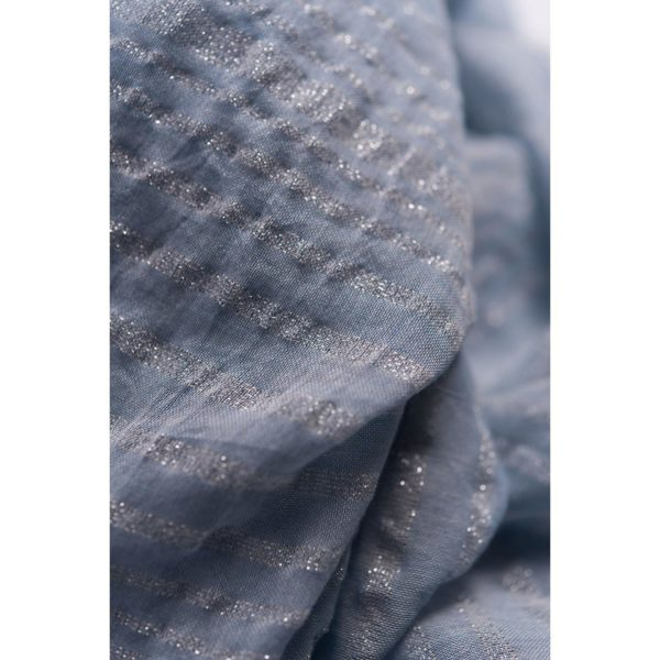 blue cotton scarves