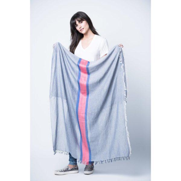 cotton scarf tres