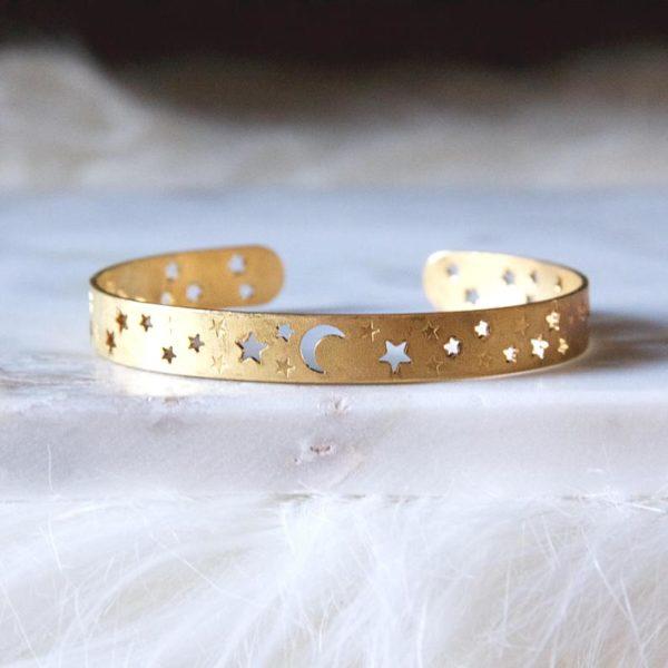 moon and star bracelet