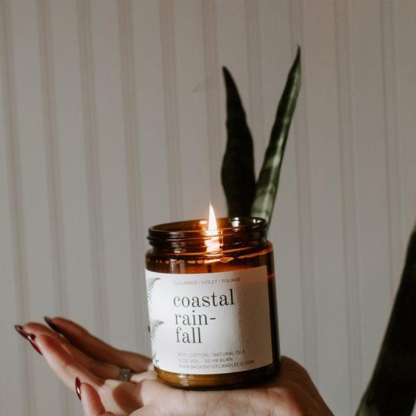 Botanical Soy Candle