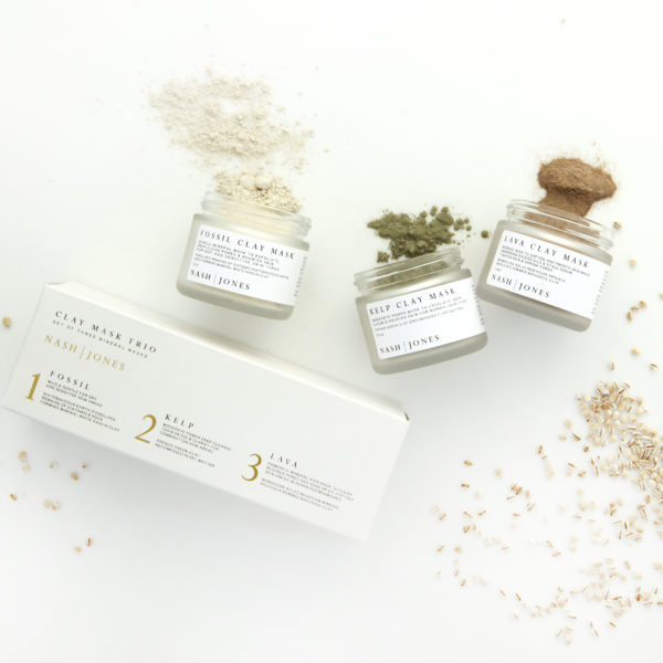 All Natural Clay Mask Trio Set