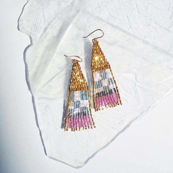 Kim Earrings by Wild Mint Jewelry