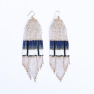 Streak Earrings by Wild Mint Jewelry
