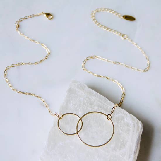 Infinity Necklace by Mesa Blue