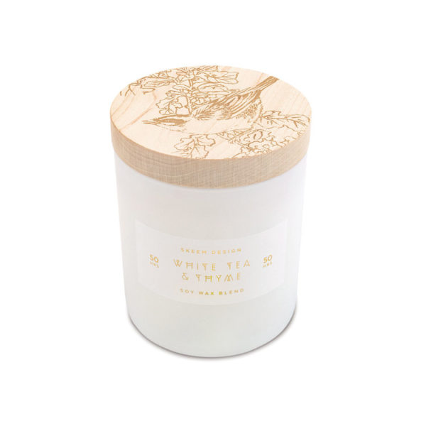 White Tea & Thyme Candle