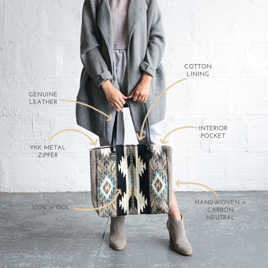 Looking Glass Tote by MZ Fairtrade