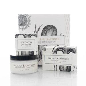 Sea Salt and Lavender Gift Set