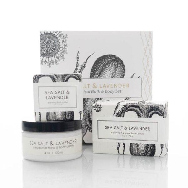 Sea Salt and Lavender Gift Set