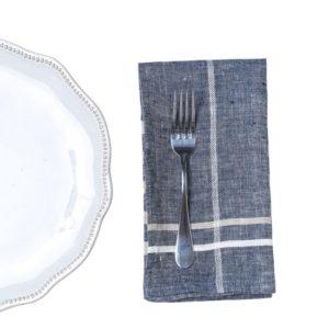 Chambray Dinner Napkin